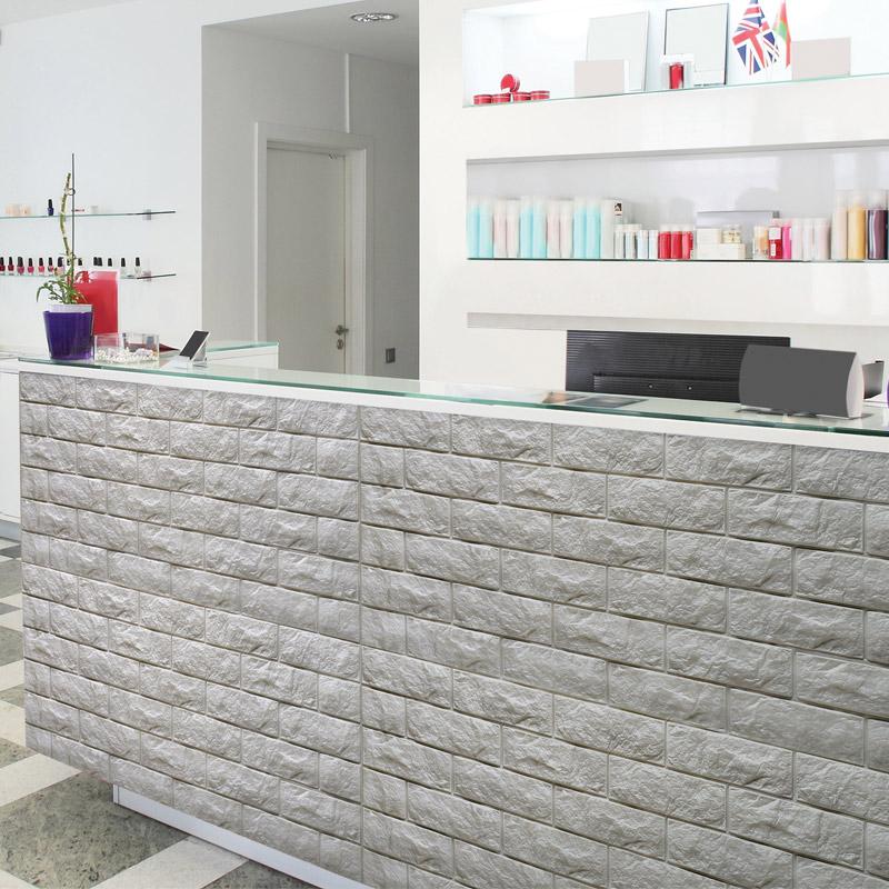 brick effect wallpaper samples