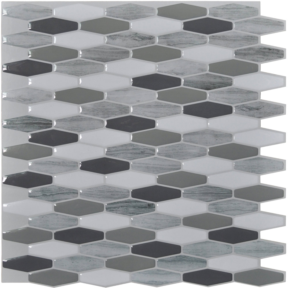 Peel Stick Mosaic 112 X 12in 10 Pcs Backsplash Tiles 95 Sqft