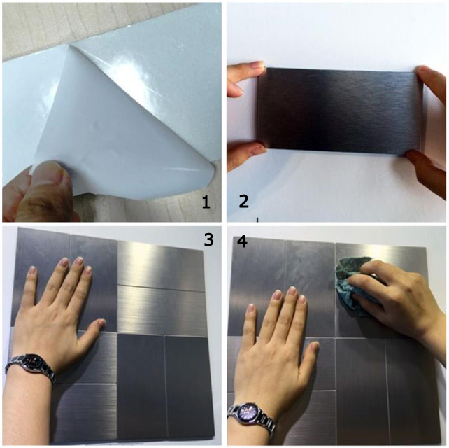 Peel-and-Stick Metal Tile Installation Guide