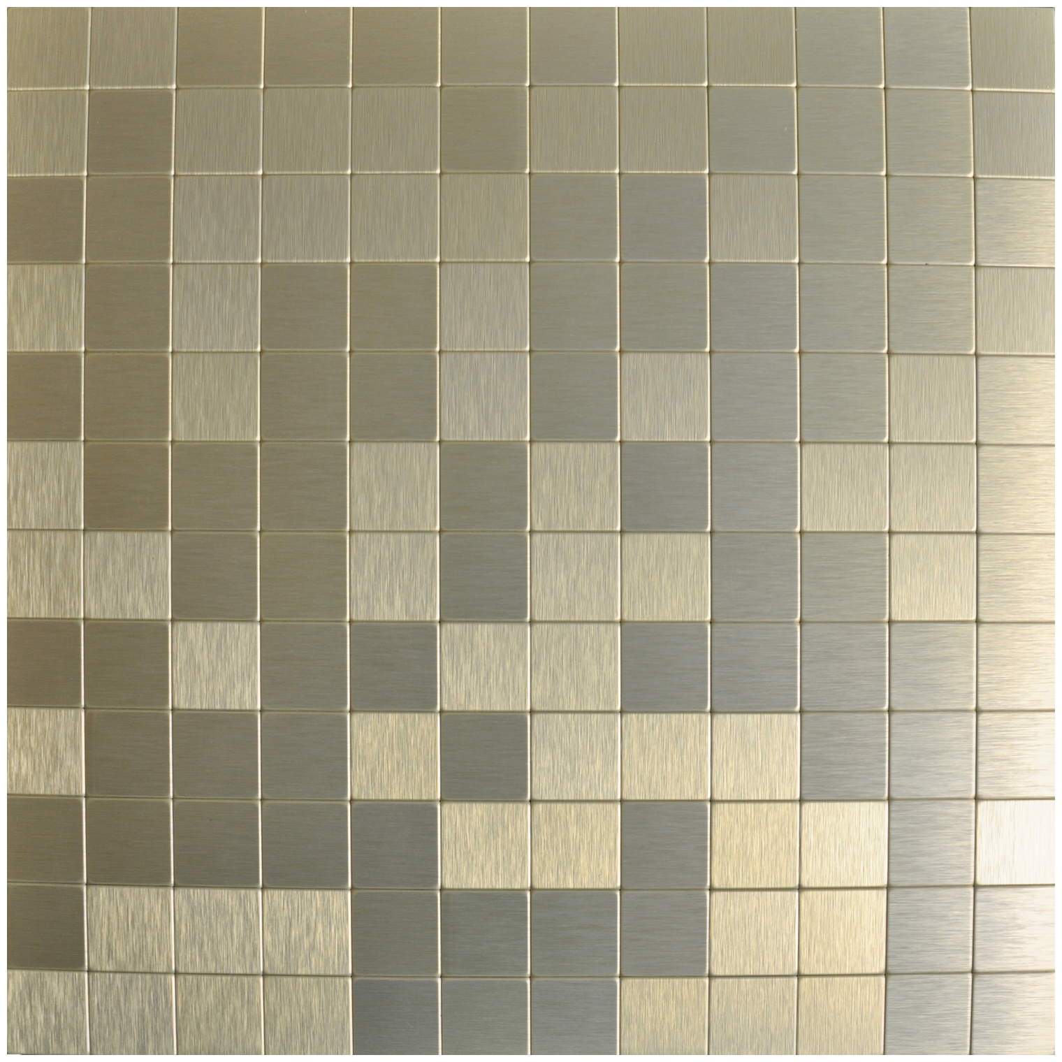 a16012 peel n stick metal mosaic 10 sheets bronze square tiles 12x12in - Metal Tile Home 2016