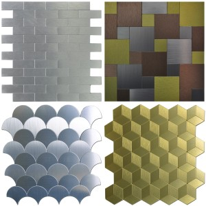 A16901 - Peel & Stick Metal Tiles Sample