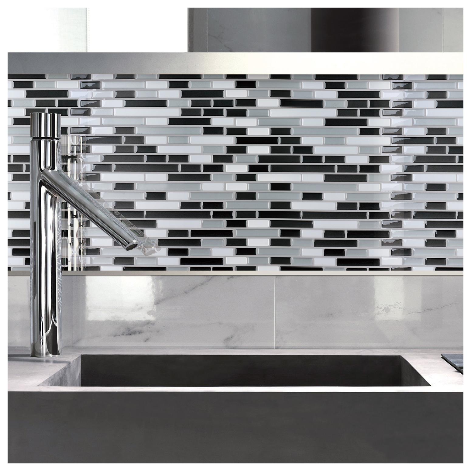 h peel and stick decorative mosaic new set of 27 self adhesive kitchen backsplash tile stickers vinyl peel and stick tile 3d backsplash stickers peel stick