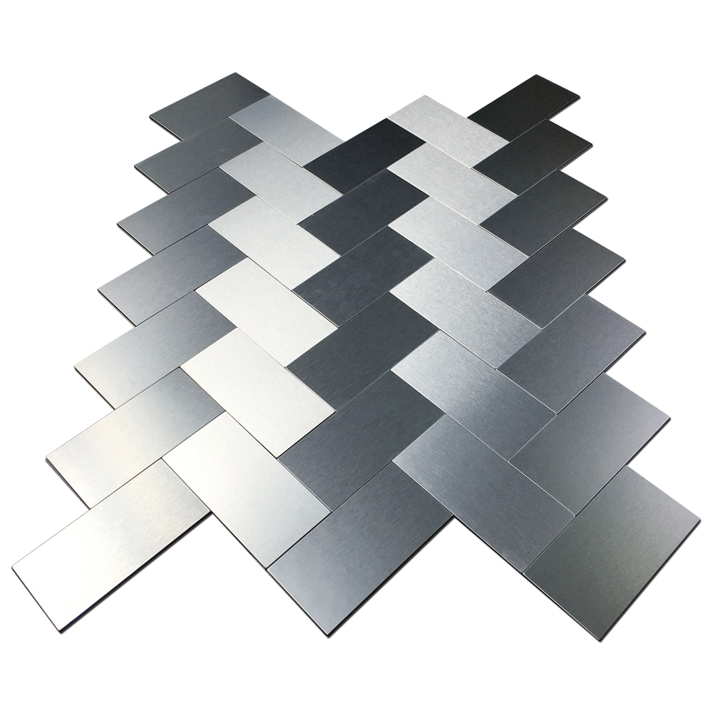 Peel & Stick Metal Tiles